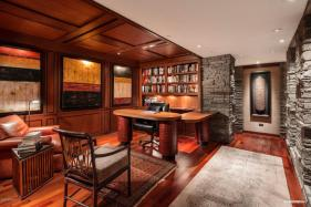 Contemporary house of steel & wood on rare hillside flat Paradise Valley grounds asking a whopping $7.5M 8