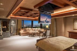 Contemporary house of steel & wood on rare hillside flat Paradise Valley grounds asking a whopping $7.5M 9
