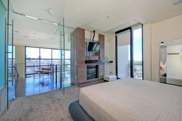 Exclusive peak of Portland Place newest sexy 2-story HighRise Penthouse 12