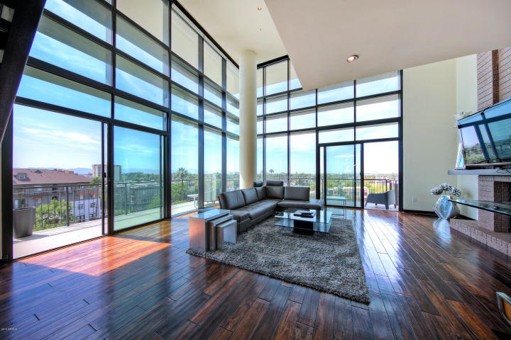 Exclusive peak of Portland Place newest sexy 2-story HighRise Penthouse 2