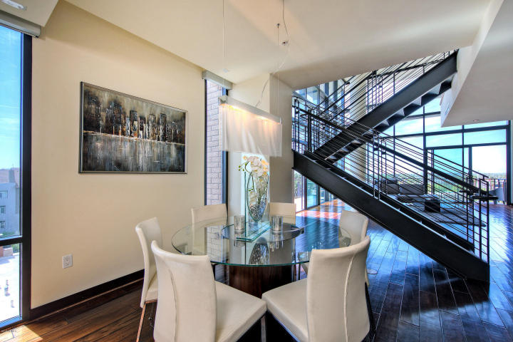 Exclusive peak of Portland Place newest sexy 2-story HighRise Penthouse 9