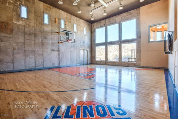 Exquisite Baller Estate With Indoor Basketball Court Trying To Bank 3 4 Million Sonoran Desert Real Estates Arizona Listings Lifestyle Homes Penthouses Architecture Juan Pesqueira Realtor