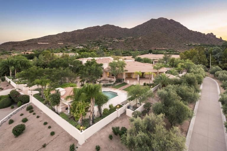 February 2016 expensive home sales Arizona