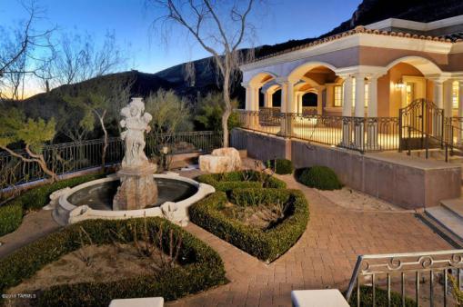 Tucson AZ Mediterranean Mansion 1