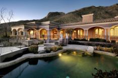 Tucson AZ Mediterranean Mansion 2