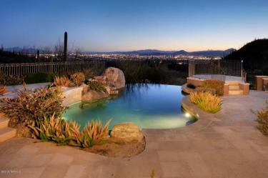 Tucson AZ Mediterranean Mansion 23