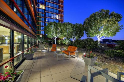 6th floor Optima Biltmore Towers pad has huge terrace, wine lovers dream 12