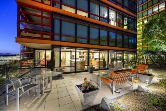 6th floor Optima Biltmore Towers pad has huge terrace, wine lovers dream 13