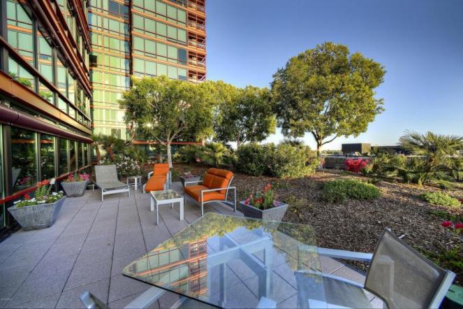 6th floor Optima Biltmore Towers pad has huge terrace, wine lovers dream