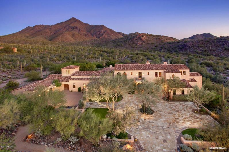 Sales of Luxury Real Estate in the Scottsdale-Phoenix-Paradise Valley market for March 2016 topped out at $4.1 million