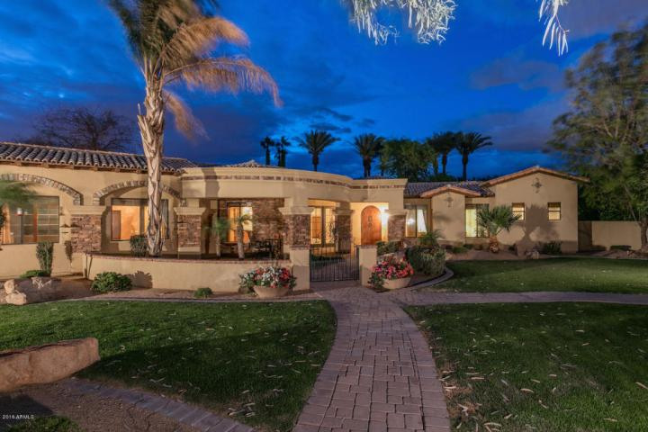 Elegant Spanish Mediterranean Paradise Valley estate with old world charm heads to auction May 26th 2016 12