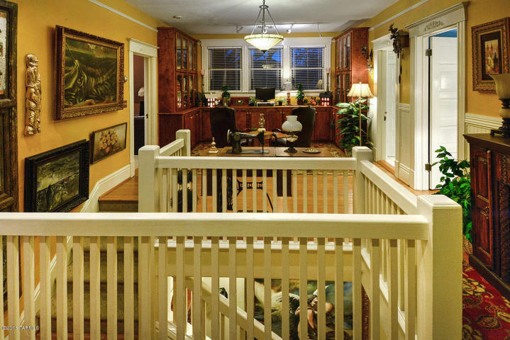 Inside Former senator Harry A. Drachman one-time 1902 brick house 3