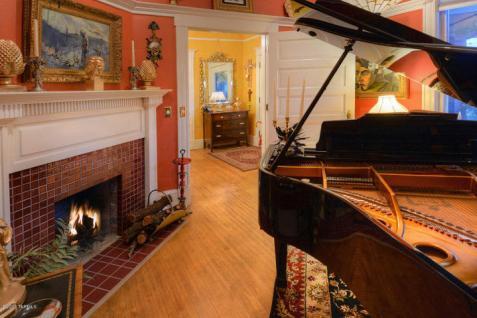 Inside Former senator Harry A. Drachman one-time 1902 brick house 8