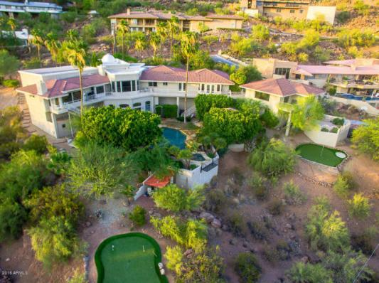 Phoenix house sitting on the South slope of Camelback Mountain 7