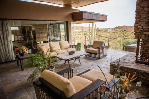$4.6M Stunning mountain top gem designed by architect Bing Hu can be your next Desert Mountain trophy property. 10