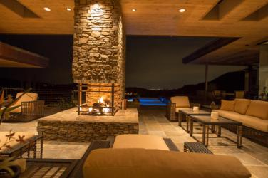 $4.6M Stunning mountain top gem designed by architect Bing Hu can be your next Desert Mountain trophy property. 11