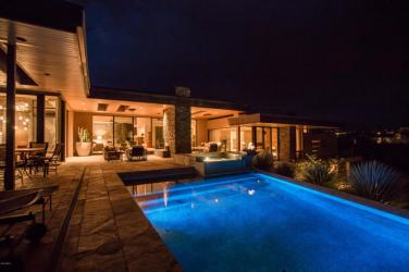 $4.6M Stunning mountain top gem designed by architect Bing Hu can be your next Desert Mountain trophy property. 12