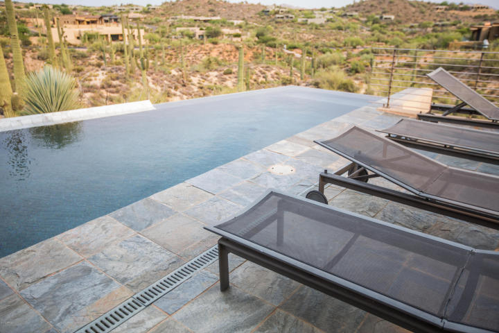 $4.6M Stunning mountain top gem designed by architect Bing Hu can be your next Desert Mountain trophy property. 19