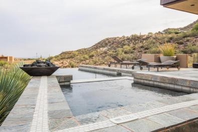 $4.6M Stunning mountain top gem designed by architect Bing Hu can be your next Desert Mountain trophy property. 22