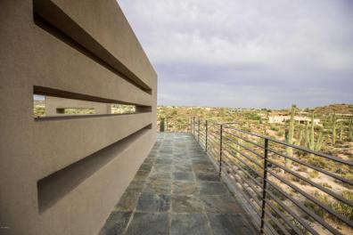 $4.6M Stunning mountain top gem designed by architect Bing Hu can be your next Desert Mountain trophy property. 24