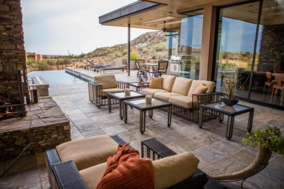 $4.6M Stunning mountain top gem designed by architect Bing Hu can be your next Desert Mountain trophy property. 27