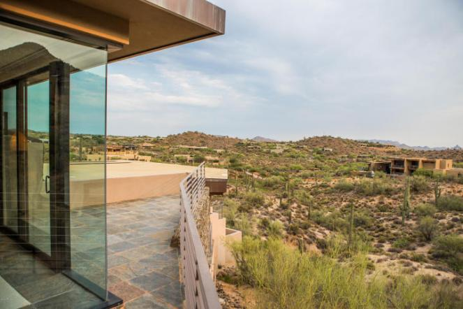 $4.6M Stunning mountain top gem designed by architect Bing Hu can be your next Desert Mountain trophy property. 28