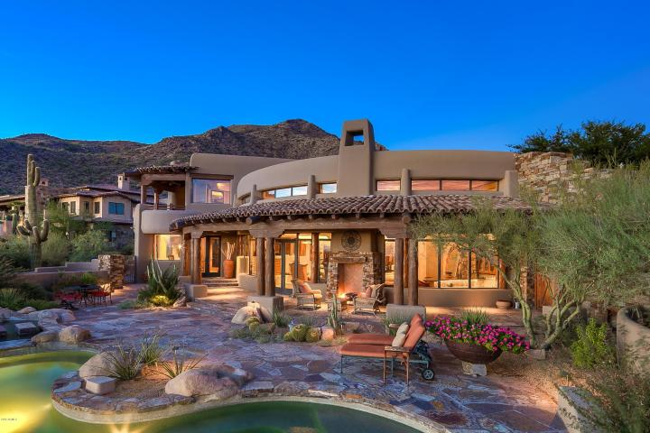 4 of the 10 most expensive home sales in arizona during for Building a house in arizona
