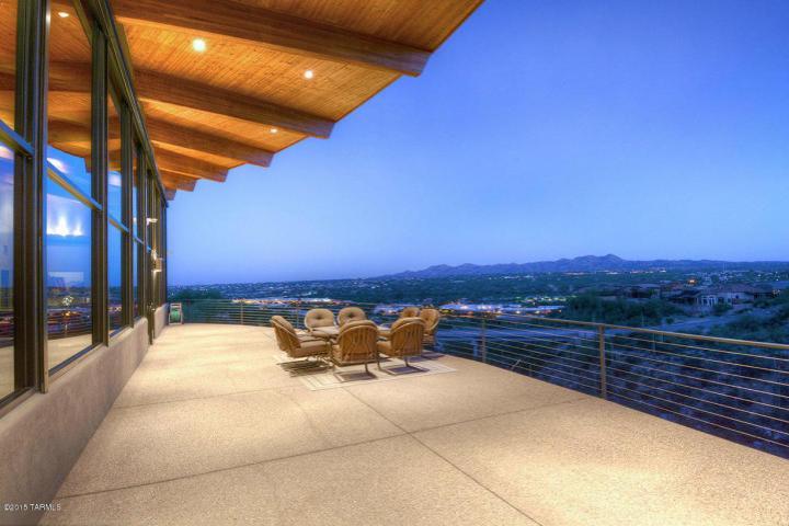 Tucson az minimalist contemporary cantilevered pad 1