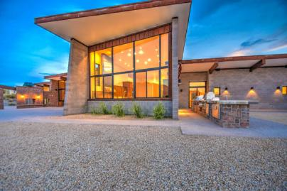 Cave Creek Contemporary Ranch with its own Margarita Station