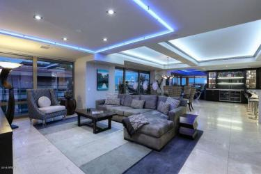 Optima Scottsdale Penthouse party pad with LED lighting & 4 balconies 1