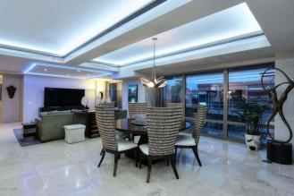 Optima Scottsdale Penthouse party pad with LED lighting & 4 balconies 7