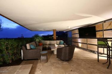 Optima Scottsdale Penthouse party pad with LED lighting & 4 balconies 9