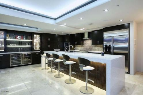 Optima Scottsdale Penthouse party pad with LED lighting & 4 balconies