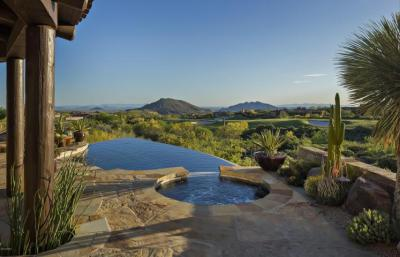 6. Fabulous 300* VIEWS! Located in the heart of the Chiricahua golf course with multiple fairway views, and captivating sunsets and city lights. Sold $3,000,000