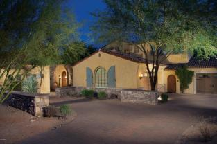 9. Designed by Erik Peterso, this home is on an acre+ lot with spectacular views of the McDowell Mountains. Sold $2,595,000