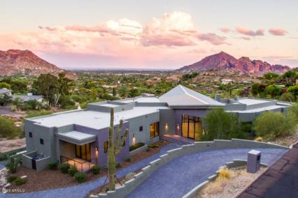 3. Paradise Valley BRAND NEW: Architectural Contemporary sold $3,240,000