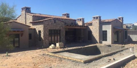 2. Horseshoe Canyon in Silverleaf in surely one of the most desirable locations in the Valley, and now, under construction, a most desirable opportunity. Mark Candelaria has designed a Rural Mediterranean, single story, 6,635 sq. ft. home, with the great room floorplan everyone is asking for. Sold $4,695,000