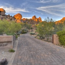 Auction planned for Carefree contemporary southwest architecture house with Award-Winning Landscape 1