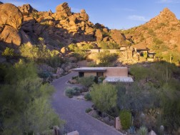 Auction planned for Carefree contemporary southwest architecture house with Award-Winning Landscape 2
