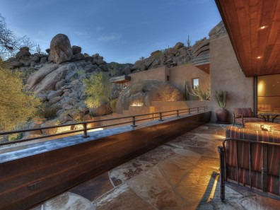Auction planned for Carefree contemporary southwest architecture house with Award-Winning Landscape 5