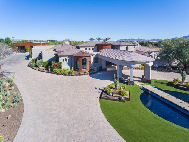 Dodgers Andre Ethier selling Gilbert Arizona Mansion 1