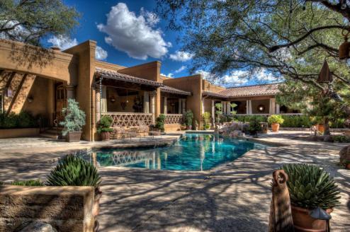Casa De La Paz Tubac Arizona 12