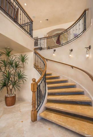 Mediterranean mansion Perched high on Mummy Mountain 4