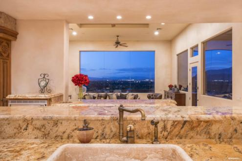 Mediterranean mansion Perched high on Mummy Mountain 8