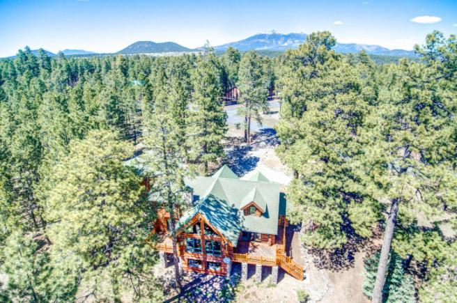 Flagstaff's Mountain Masterpiece, Stunning one-of-a-kid log home 1