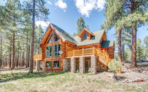 Flagstaff's Mountain Masterpiece, Stunning one-of-a-kid log home 3