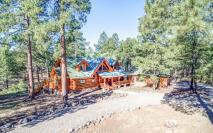 Flagstaff's Mountain Masterpiece, Stunning one-of-a-kid log home 4