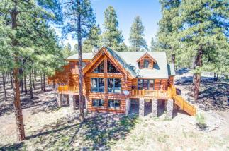Flagstaff's Mountain Masterpiece, Stunning one-of-a-kid log home