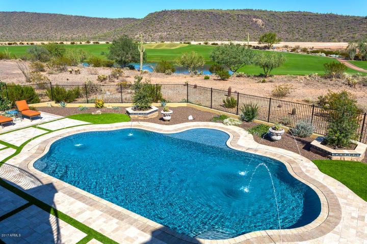 $1.7 million Mediterranean entertainers dream lavish home in Peoria, AZ 10