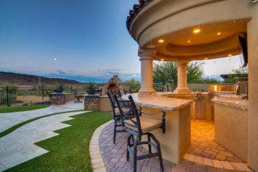 $1.7 million Mediterranean entertainers dream lavish home in Peoria, AZ 11